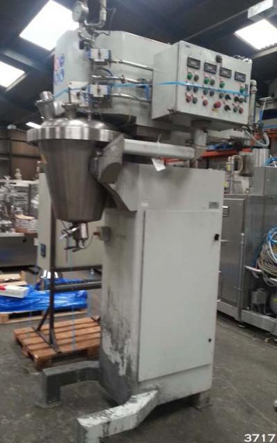 Novatech Rayneri Trimix Txr 50 Conical Process Mixing