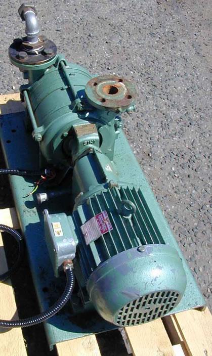 Novatech Sihi Ryaland Liquid Ring Vacuum Pump Stock