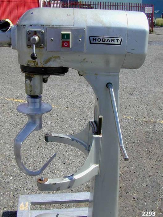 Novatech    Hobart A200 Change Pan Mixer