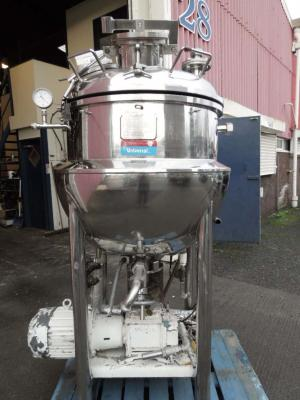 Novatech Stock Ref 3749 Giusti 50 gallon process vessel