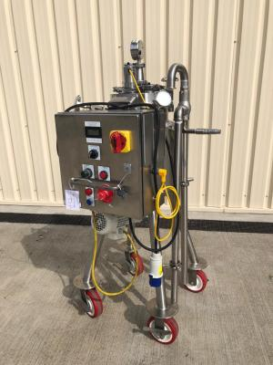 Novatech Stock 4134 20Ltr stainless steel mobile mixing vess