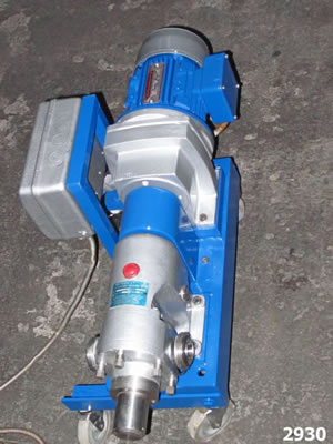 SSP type AP100/CS8T positive displacement rotary lobe pump