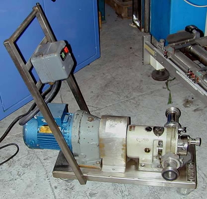 HOWARD model 1JL rotary lobe pump