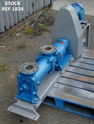MONO positive displacement pump type MH70R5/f