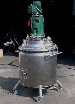 325 litre jacketed vacuum mixer